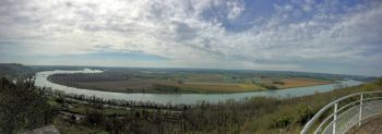 Panoramique confluence Tarn et Garonne