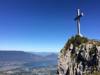 Croix du Nivolet et lac du Bourget